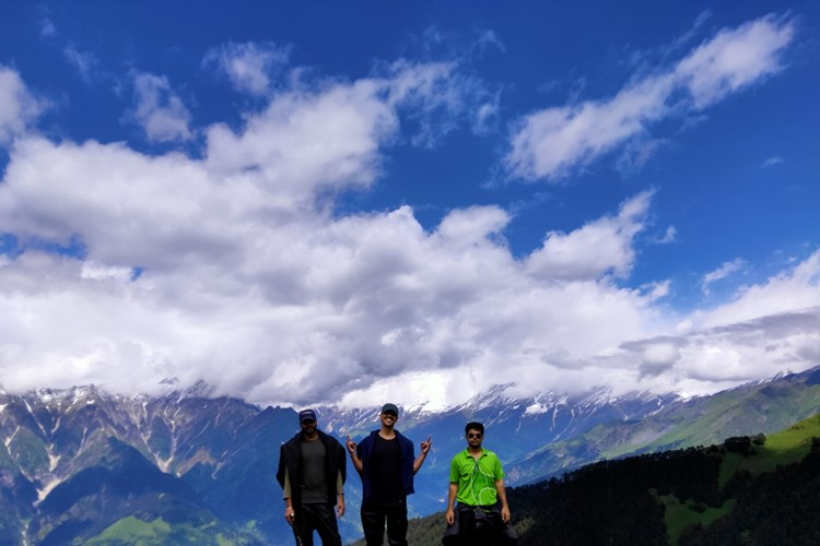 Bhrigu Lake Height 14,100 ft